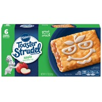Pillsbury Toaster Strudel Pastries Apple - 6 ct