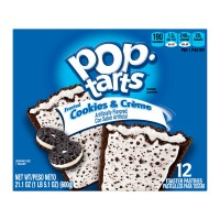Kellogg's Pop-Tarts Frosted Cookies & Creme - 12 ct
