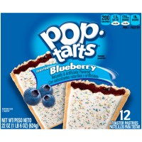 Kellogg's Pop-Tarts Frosted Blueberry - 12 ct