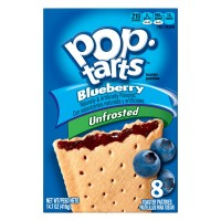 Kellogg's Pop-Tarts Unfrosted Blueberry - 8 ct