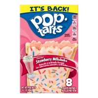 Kellogg's Pop-Tarts Ice Cream Shoppe Frosted Strawberry Milkshake - 8 ct