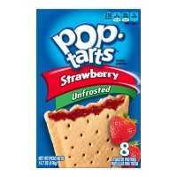Kellogg's Pop-Tarts Unfrosted Strawberry - 8 ct