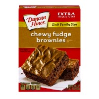 Duncan Hines Brownie Mix Chewy Fudge