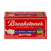 Breakstone's Butter Unsalted Sticks - 4 qrtrs