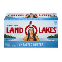 Land O Lakes Butter Unsalted Sticks - 4 ct