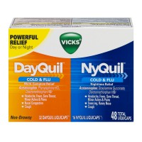 Vicks DayQuil & NyQuil Cold & Flu Relief Combo Pack LiquiCaps