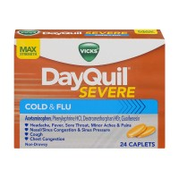 Vicks DayQuil Severe Cold & Flu Maximum Strength Caplets
