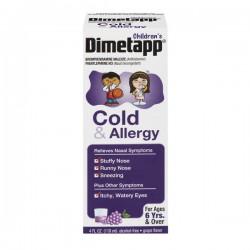Dimetapp Children's Cold & Allergy Grape Liquid