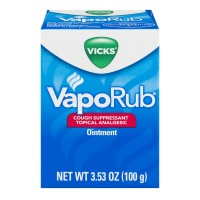 Vicks VapoRub Cough Suppressant Topial Analgesic Ointment