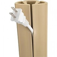 Cord Cover Cable Protector, Beige, 5 Ft.
