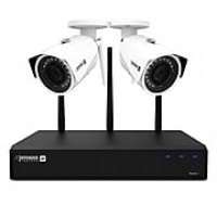 Defender 2K (4MP) Wireless Security Surveillance System with 2 HD Cameras (W2K1T4B2)