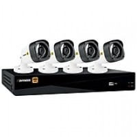 Defender HD 1080p 4 Channel 1TB DVR Security System and 4 Bullet Cameras