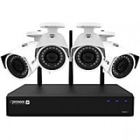 Defender 2K (4MP) Wireless Security Surveillance System with 4 HD Cameras (W2K1T4B4)