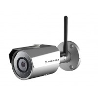 Amcrest HDSeries Outdoor 1.3-Megapixel (1280 x 960P) WiFi Wireless IP Security Bullet Camera - 1.3MP (1280TVL), Silver
