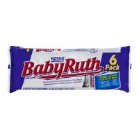 Nestle Baby Ruth Candy Bars Snack Size - 6 ct