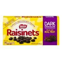 Nestle Raisinets California Raisins Dark Chocolate Covered Theater Box