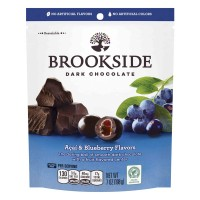 Brookside Dark Chocolate Covered Fruit Pieces Acai & Blueberry