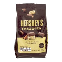 Hershey's Nuggets Milk Chocolate with Almonds Classic Bag