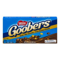 Nestle Goobers Peanuts Milk Chocolate Covered Candy Theatre Box