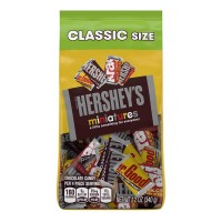 Hershey's Miniatures Chocolates Assorted Classic Variety Bag