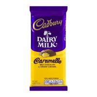 Cadbury Caramello Dairy Milk Chocolate & Creamy Caramel Bar