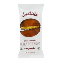 Justin's Peanut Butter Cups Milk Chocolate - 2 ct Organic