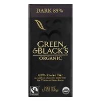 Green & Black's 85% Cocoa Content Organic Dark Chocolate Bar