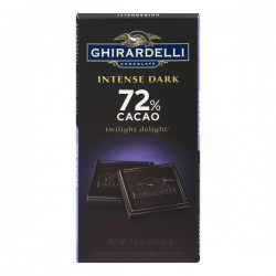 Ghirardelli Intense Dark Chocolate Twilight Delight 72% Cacao All Natural