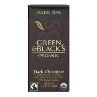 Green & Black's Dark Chocolate Bar with 70% Cocoa Content Organic
