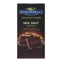 Ghirardelli Intense Dark Chocolate Sea Salt Soiree All Natural