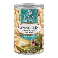 Eden Cannellini Beans White Kidney No Salt Added Organic