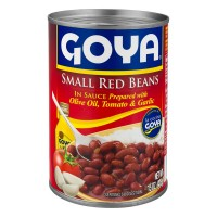Goya Small Red Beans in Sauce (Frijoles Rojos)