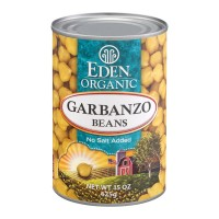Eden Garbanzo Beans No Salt Added Organic
