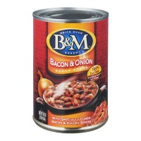 B&M Baked Beans Bacon & Onion 98% Fat Free