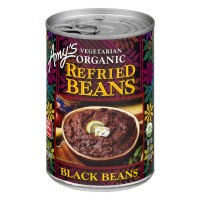 Amy's Refried Black Beans Vegetarian Organic