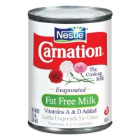 Carnation Evaporated Milk Fat Free Vitamins A & D Added