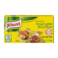 Knorr Bouillon Vegetarian Vegetable Cubes - 6 ct