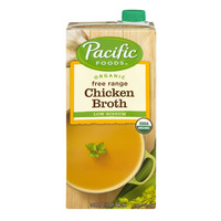 Pacific Foods Chicken Broth Low Sodium Free Range Organic