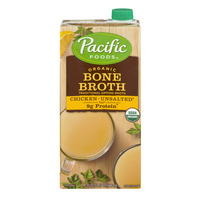 Pacific Foods Bone Broth Chicken Unsalted Organic