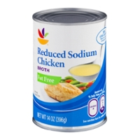 Stop & Shop Chicken Broth Reduced Sodium Fat Free