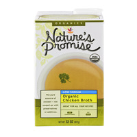 Nature's Promise Organics Chicken Broth Low Sodium