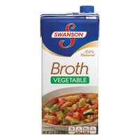 Swanson Vegetable Broth 100% Natural