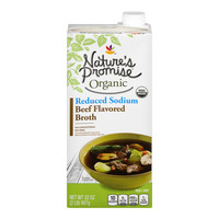 Nature's Promise Naturals Beef Flavored Broth Reduced Sodium