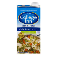 College Inn Chicken Broth Light & 100% Fat Free 50% Less Sodium
