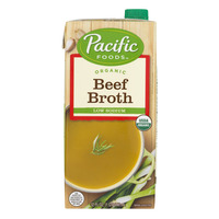 Pacific Foods Beef Broth Low Sodium Organic