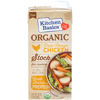 Kitchen Basics Free Range Chicken Stock for Cooking Organic