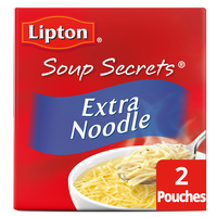 Lipton Soup Secrets Soup Mix Extra Noodle with Chicken Broth - 2 ct