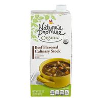 Nature's Promise Organics Beef Flavored Stock Culinary