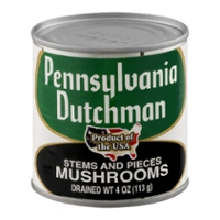 Pennsylvania Dutchman Mushrooms Stems & Pieces
