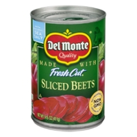 Del Monte Fresh Cut Beets Sliced